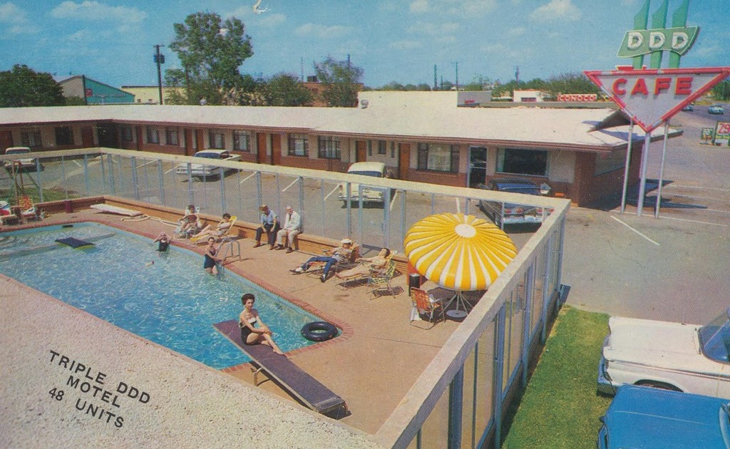 The Cardboard America Motel Archive Triple Ddd Motel Wichita Falls Texas