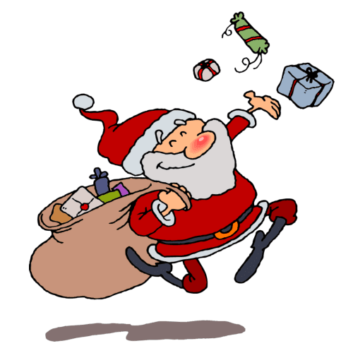 Animated Santa Claus Clipart Free Download Best Animated Santa