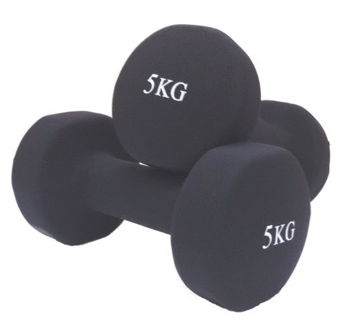 Dumbbell Set 5KG Dumbbells Hand Weights Free Weights Fitness 5KG Dumbell