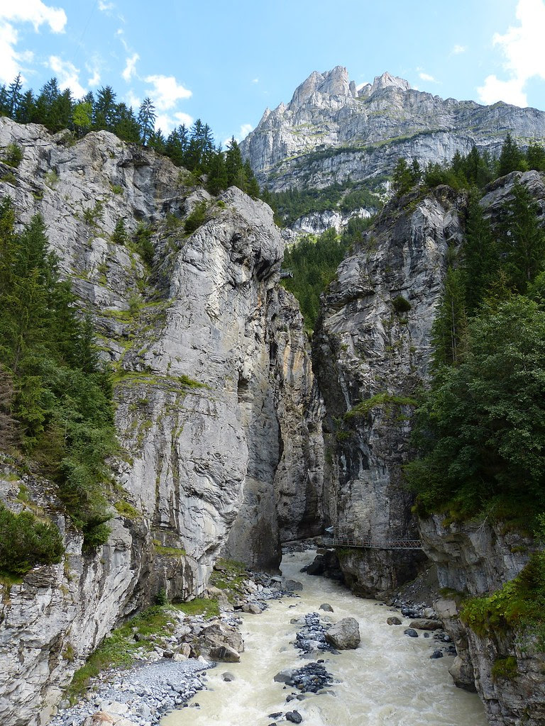 Gletscherschluct Gorge, Switzerland