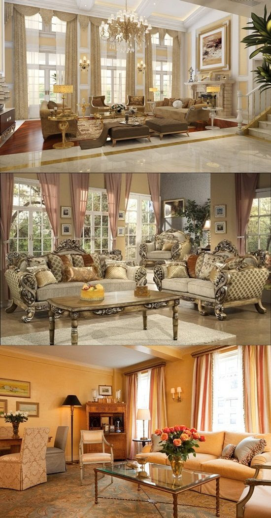 Victorian Living Room Curtain Ideas - Victorian Style ...