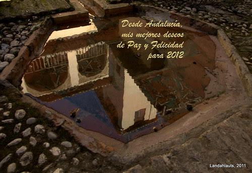 Reflejo en un surtidor del Palacio de Dar al-Horra