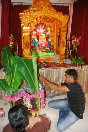 Satyanarayan Puja Preparation by firoze shakir photographerno1