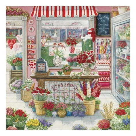 blossom's flower shop by janet kruskamp