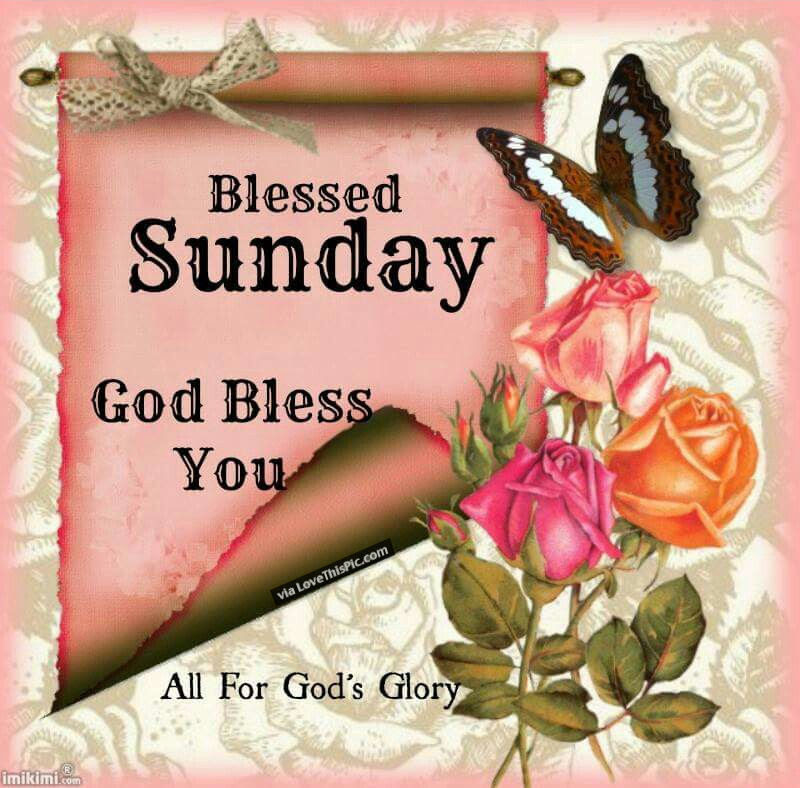Blessed Sunday God Bless You Pictures Photos And Images For