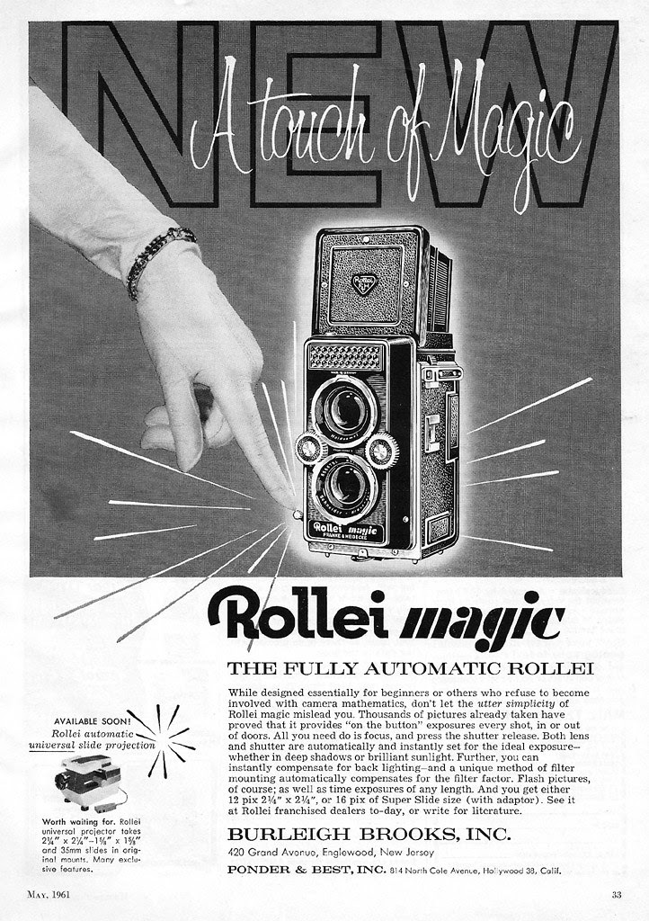 Rollei Magic ad - 1961