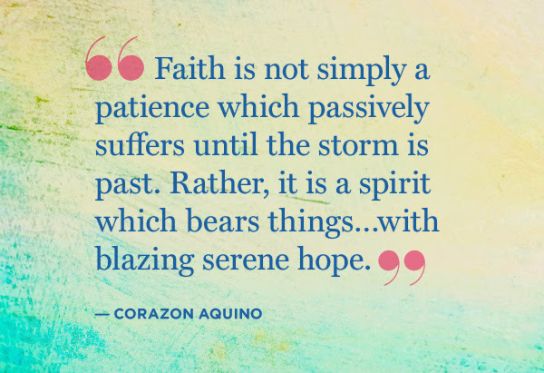 Keeping Your Faith Quotes