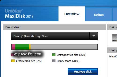 Uniblue MaxiDisk