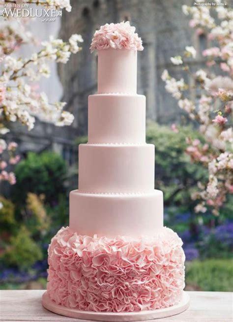 28 Inspirational Pink Wedding Cake Ideas