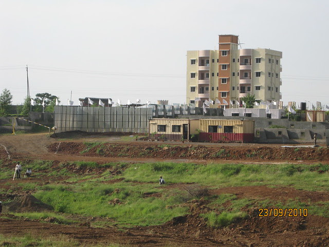 Tata Inora Park - Katraj Saswad State Highway - Undri Pune - Site office and site