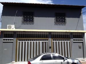 Casa onde Henrique Cutrim foi encontrado morto (Foto: G1 Maranhão)