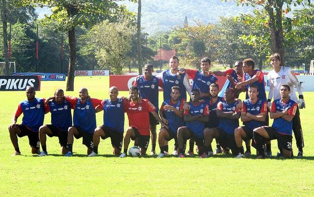 time rachão vitória no treino do Flamengo (Foto: Richard Souza / Globoesporte.com)
