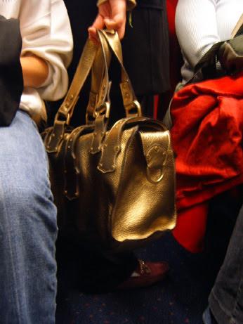 Chunky Metallic Bag