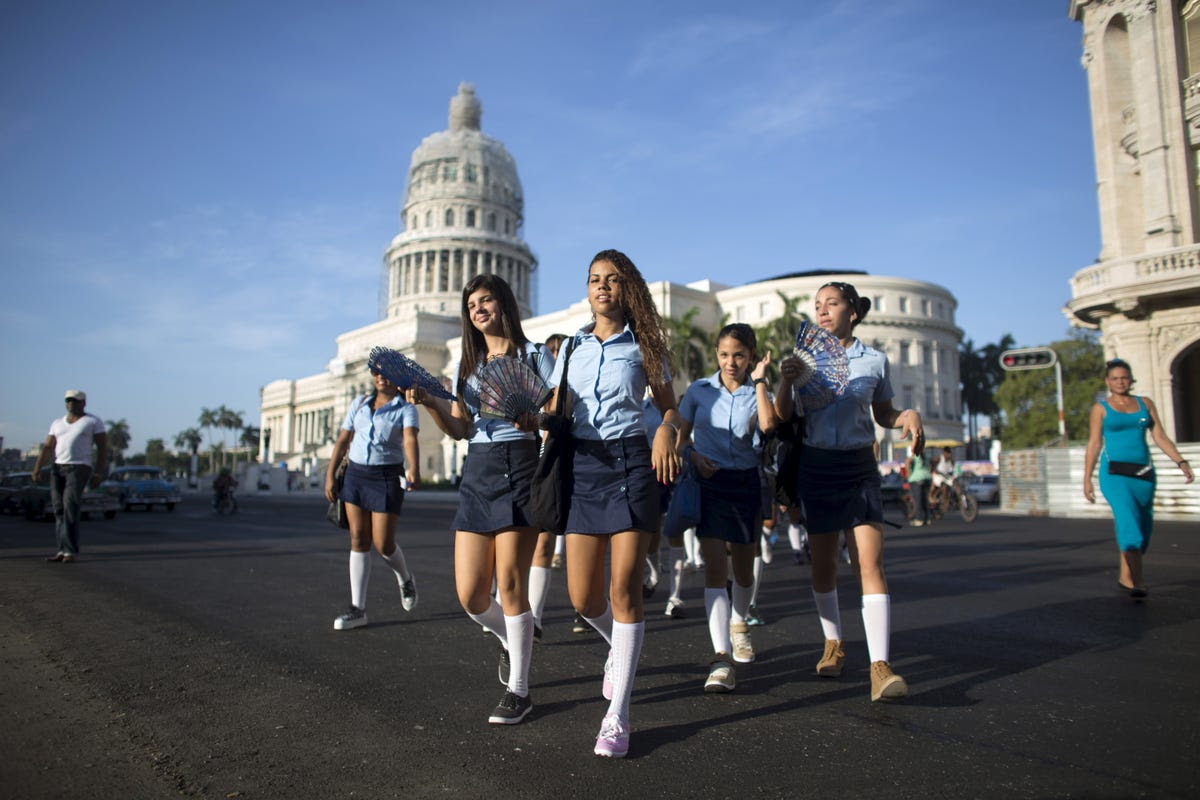 Cuba is known for its high-performing education system. It's considered to have the top schools in Latin America and the Caribbean.