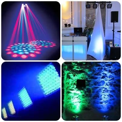DJ Lichtanlage