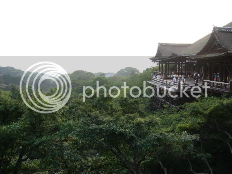 L'edifici principal i Kyoto al fons
