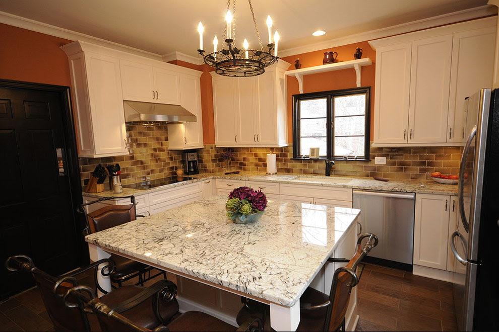 29+ Popular Cream Color Granite Kitchen Countertops ...