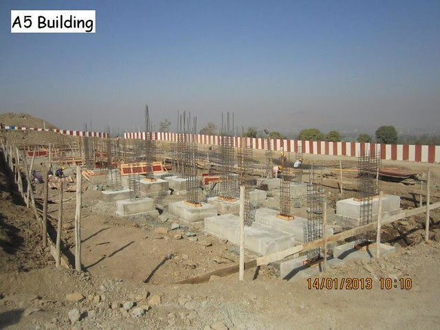Xrbia Hinjewadi Pune Construction Progress Updates - January 2013