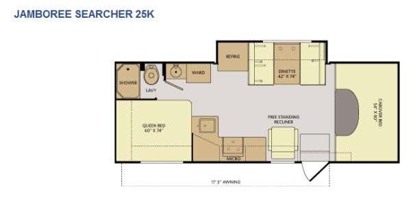 1995 Jamboree Searcher Floor Plan House Plan
