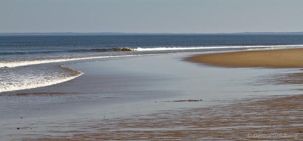 Parker River National Wildlife Refuge, ocean at low tide