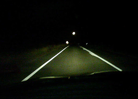 Night driving in Queensland