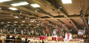 The Basilica of St. Pius X, Lourdes
