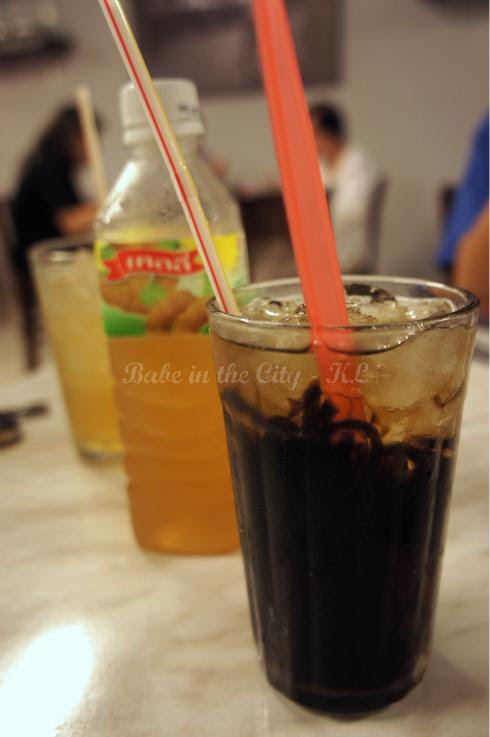 Thai Black Jelly (RM3.90) & Thai Tamarind Juice (RM7.90)