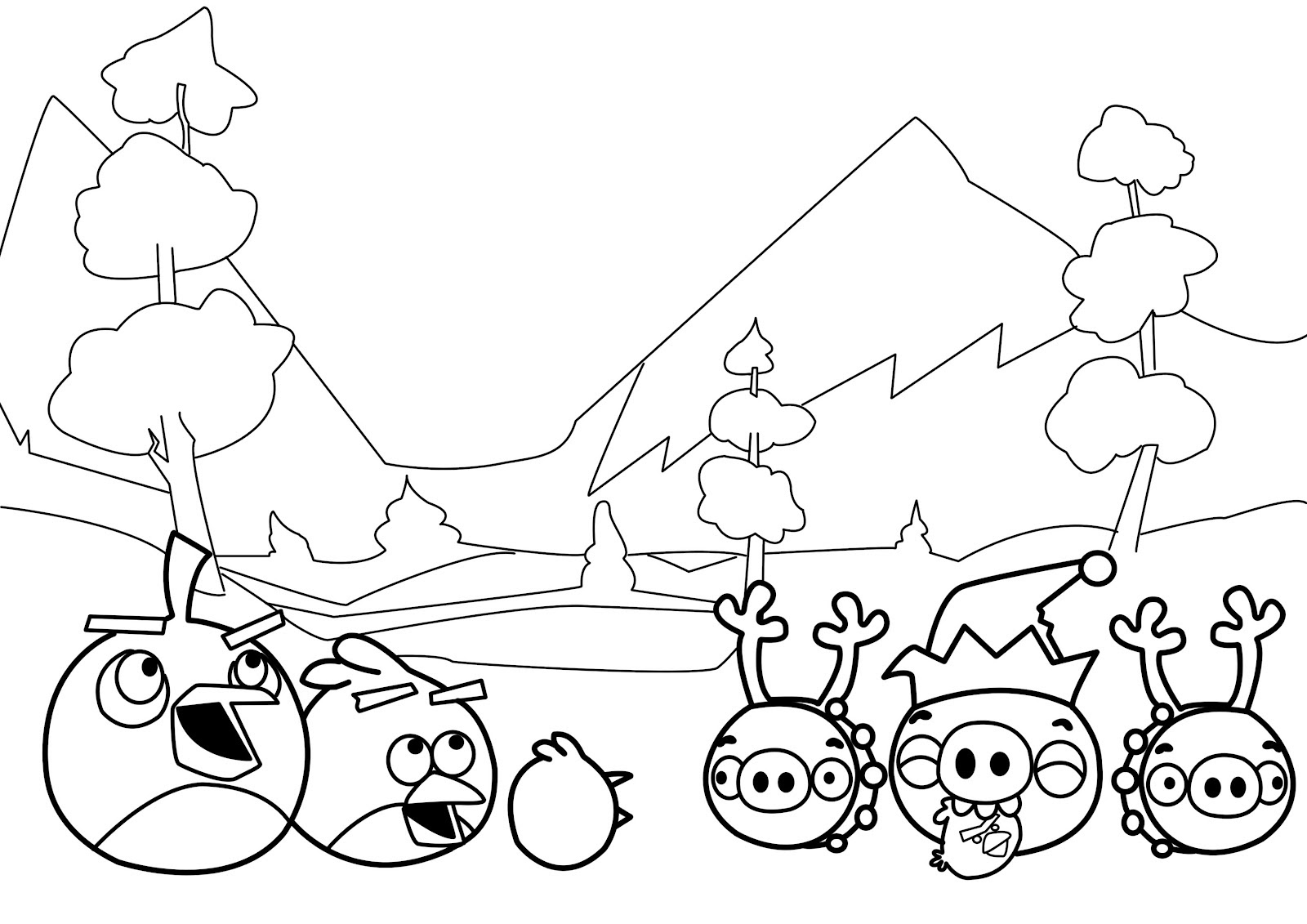 Elegant Angry Birds Star Wars 2 Coloring Pages Top Free Coloring