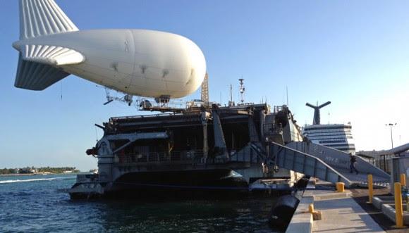 Bajo el pretexto de luchar contra el narcotráfico el gobierno estadounidense patrullra el caribe con minidrone y aerostatos