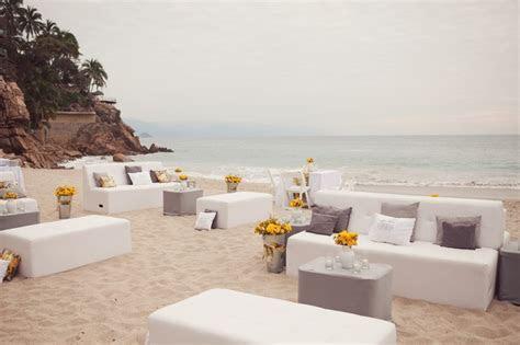 Wedding lounge reception on the beach   Fab Mood   Wedding