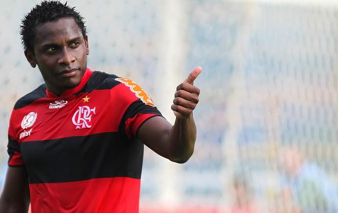 Willians, Flamengo (Foto: Rui Porto Filho / Agêncua Estado)