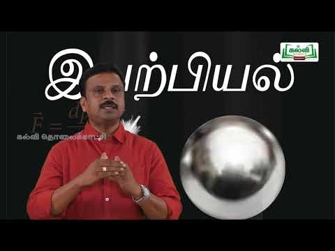 முப்பரிமாணம் Std 12 TM  Physics Magnetic Field Current carrying Kalvi TV