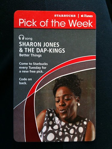 Starbucks iTunes Pick of the Week - Sharon Jones & the Dap-Kings - Better Things #fb