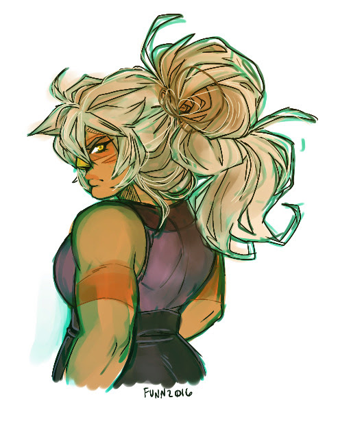 another jasper doodle cause frankly i'm in love with this woman's giant hair