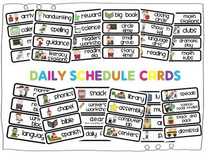 1000+ ideas about Visual Schedule Printable on Pinterest | Visual ...