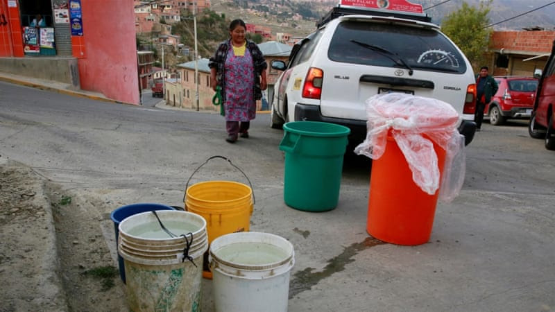 Bolivia has declared a national emergency due to the ongoing drought [David Mercado/Reuters]