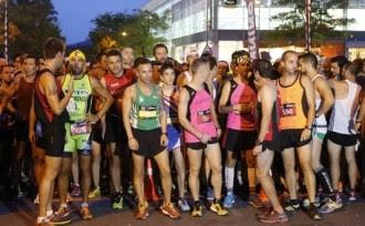 Més de mil atletes participen a la Night Running Series Terrassa