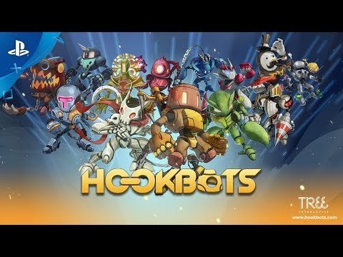 Hookbots Review | Gameplay | Multiplayer