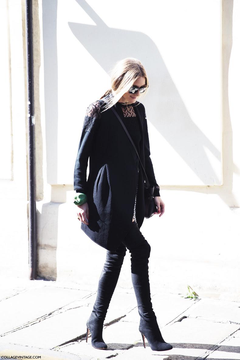 Paris_Fashion_Week_Spring_Summer_15-PFW-Street_Style-Miroslava_Duma-Leopard_Coat-Olivia_Palermo-Tweed_Shorts-Black-Vest-9