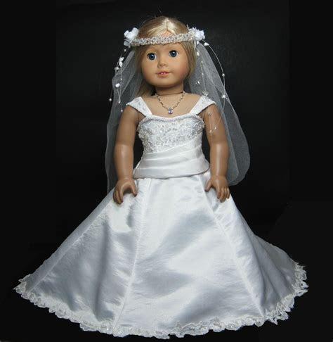 Wedding Dress for American Girl Doll. Inspiration.   18
