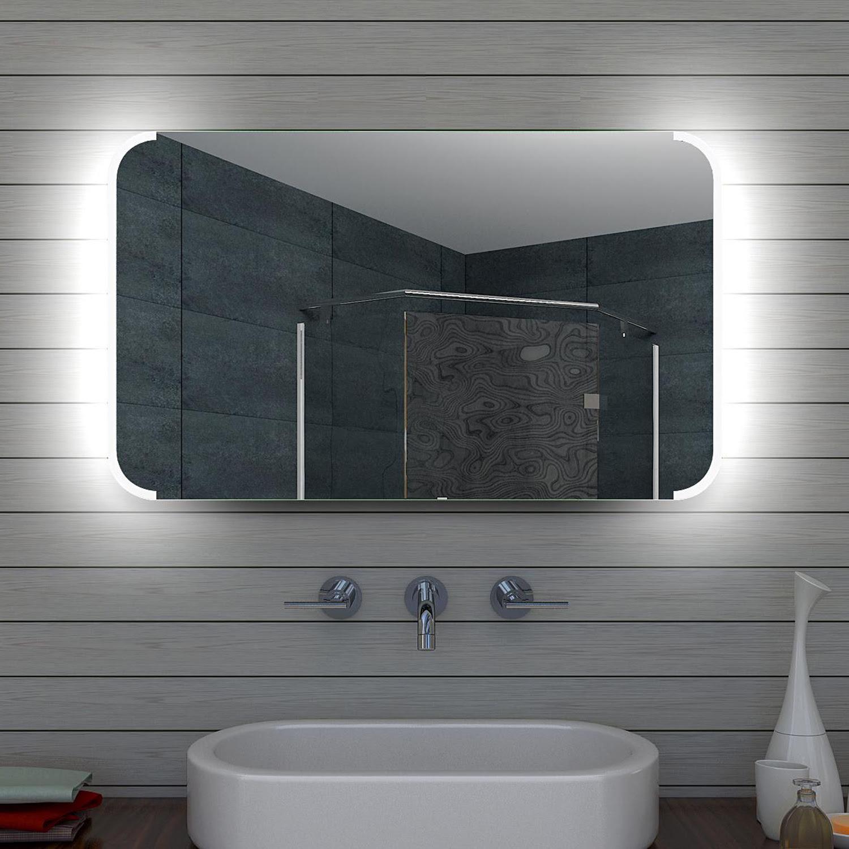 wwwluxaquade  design led badezimmerspiegel badspiegel