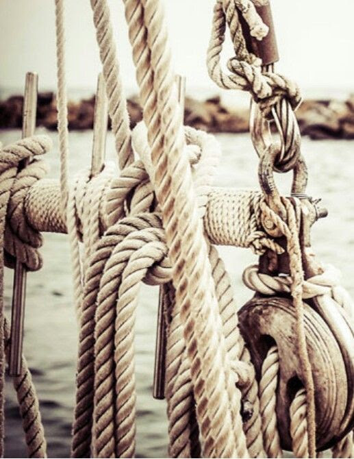 #ropes #knots and sailing. Garment inspiration for #TigerJay