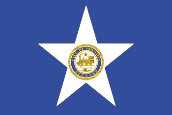 English: Flag of Houston. SVG image created by...