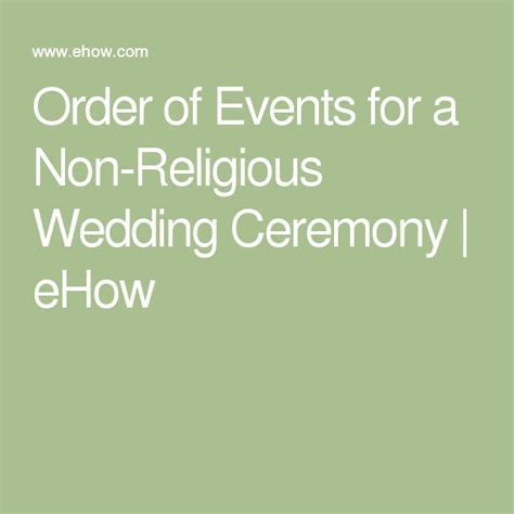 Best 25  Non religious wedding ceremony ideas on Pinterest