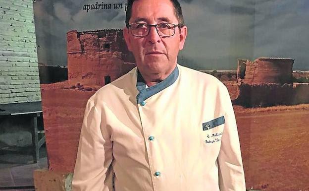 El arroz con paloma de Gregorio Mediavilla, de la Tata de Cuenca de Campos, fue uno de los platos ofrecidos en el evento