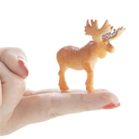 Miniature Moose   Animal Miniatures   Dollhouse Miniatures