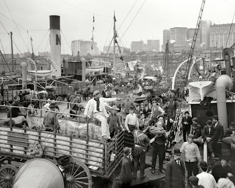 Banana Boat: 1906