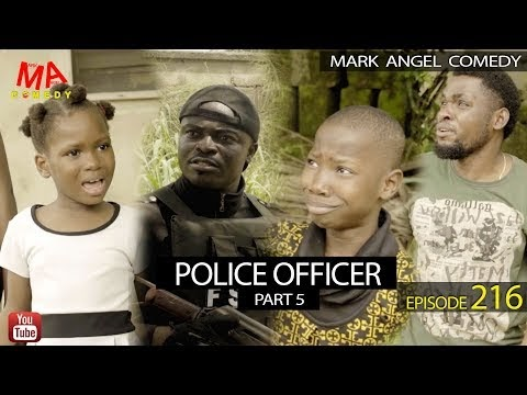POLICE OFFICER Part 5 (Mark Angel Comedy) (Episode 216)
