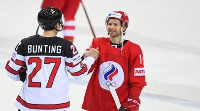 Бадюков высказался о вылете сборной России с ЧМ по хоккею после поражения от Канады