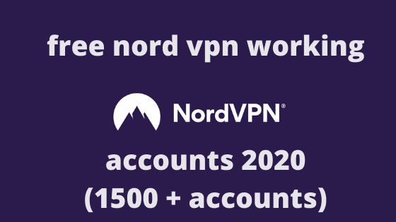 Nord vpn cracked username and password (February 2021)